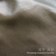 Decorative Leather Compound Foil Fabric Polyester Suede