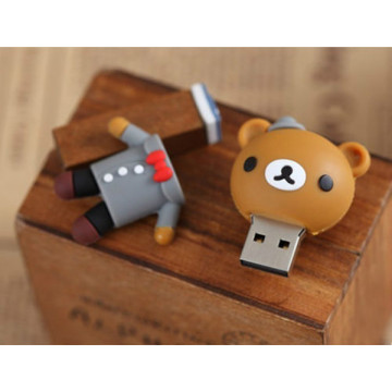 Cartoon Beer Bruid Bruidegom USB Flash Drive
