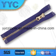 #5 O/E Y Teeth Auto Lock Metal Zippers for Bags
