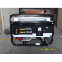 Портативный бензиновый / бензиновый генератор на 2500 ватт-1 год гарантии - оригинальная упаковка