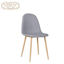 Heißer verkauf moderne metall beine stoff sitz stuhl