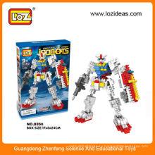 Пластиковый строительный блок Робот комплект обучающая игрушка