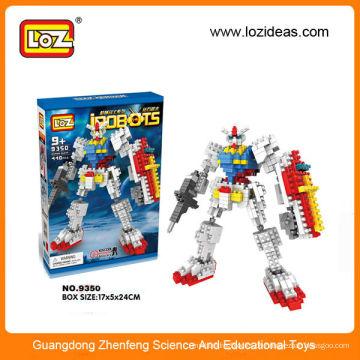 Plastik Baustein Roboter Kit pädagogisches Spielzeug