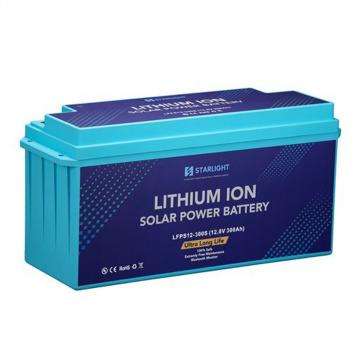 Batería solar azul LiFePO4 12V300Ah (especial)