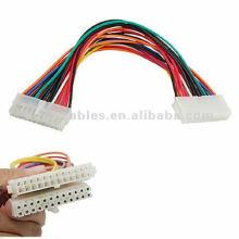 Câble d'extension 24 broches Connecteur mâle à femelle ATX 24 broches
