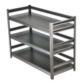 Thickened Household Multi-layer Metal Kitchen Shelf Rack