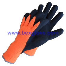 Sandy Finish, Warm Keeping and Heavy Duty Work Glove