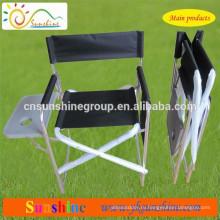 Aluminum foldable chair with tea table, Portable Folding director chair