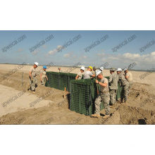 Military Bastion Barriers (Hesco Barriers)