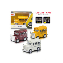 1: 36 Pull Back Alloy Bus Toy (H1851054)