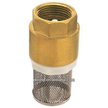 Válvula de retenção de latão J5001 com válvula de retenção de latão / latão