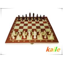 juego tablero de ajedrez piezas de ajedrez juguetes de educación infantil juegos de ajedrez de madera