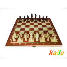 jeu d'échecs conseil pièces d'échecs enfant jouets éducatifs jeux d'échecs en bois