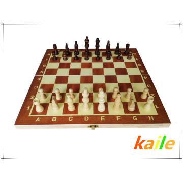 Spiel Schachbrett Schachfiguren Kind Bildung Spielzeug aus Holz Schachfiguren