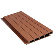 China Factory Waterproof Wood Plastic Composite Wall Cladding Exterior Decorative WPC Panel