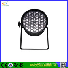 Hot 2016! dj lighting 54*1W led par 64 rgb dmx stage lighting make in China