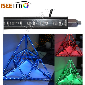 Émission de télévision DMX RGB Magic Led Dome Bar