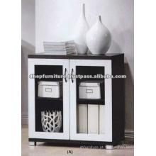 Gabinete de exposição, Gabinete de exibição de madeira