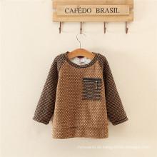 Koreanische Artkinderstrickjacke für Winter / Kinder, die Strickjacke kleiden