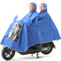 100% polyester single/double raincoat poncho outdoor