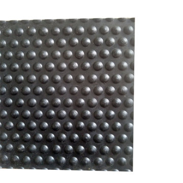 Bubble Patterned Cow Horse Rubber Mat