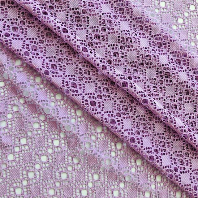 Spandex lace fabric