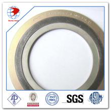 Junta de ferida em espiral Ss316 / Grafite com CS Material do anel externo Juntas