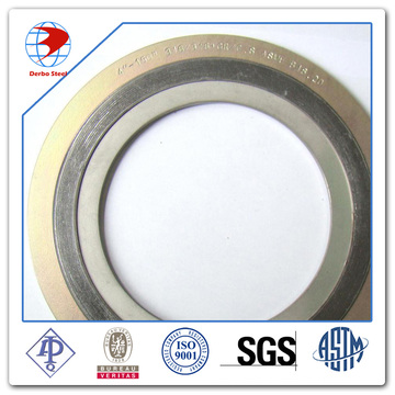 Spiral Wound Gasket Ss316/Graphite with CS Outer Ring Material Gaskets