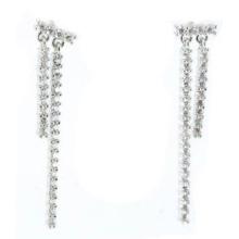 Pendiente de plata de la alta calidad 925 de la joyería de la mujer de la manera (E6473)