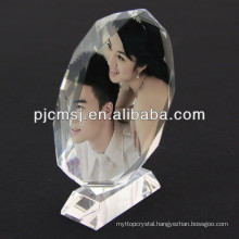 201 high quality Personalized beautiful crystal photo frames for Wedding gifts &love gifts