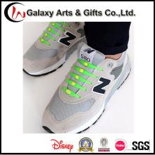 Nuevos cordones de zapatos de silicona elásticos premium sin nudo para adultos / niños