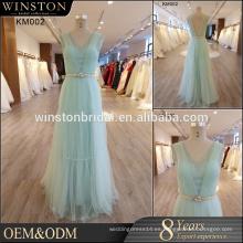 Venta caliente buena calidad 2017 nuevo vestido de noche del estilo hecho en China