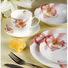 22 peças de porcelana conjunto de jantar ocidental (LFR6437)