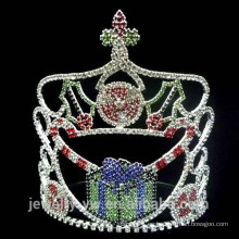 Regalo de Navidad de cristal de la caja de regalo de moda corona