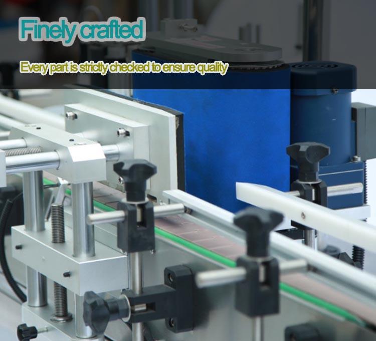 automatic round bottle labeling machine