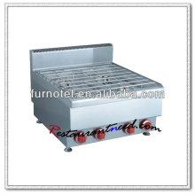 K413 brûleur de cuisinière à gaz en acier inoxydable d'équipement de cuisine