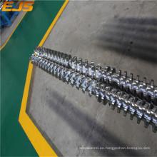 Barril de tornillo gemelo paralelo útiles de extrusión