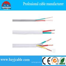 Гибкий медный проводник ПВХ плоский кабель оболочки от Китай Производство