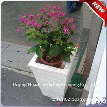 pvc plastic flower pot