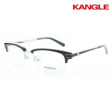 acetate metal combined eyegalsses combination optical frame new designer spectacle
