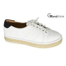 Chaussures de sport en espadrille avec chaussures à lacets