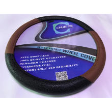 Classic bling soft grip leather steering wheel covers