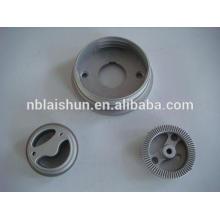 Suministro OEM de aluminio, zinc, precisión mg piezas de fundición a presión, disipador de calor de aluminio