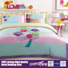 2017 Amazon Hot Selling Baby Crib Bedding Set 100%Cotton
