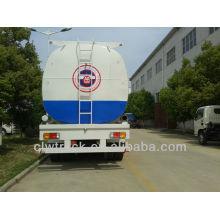Tri-axle 40000 litros semirremolque del tanque de combustible, fuente de la fábrica barato tanque de gasolina gasolinera