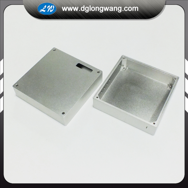 aluminum enclosure machining