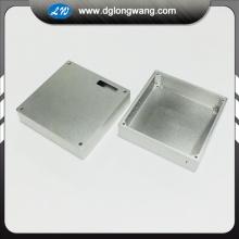 Precision CNC milling aluminum enclosure machining service