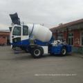 Construction Using Cement Mixer Truck