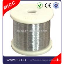 Cable de resistencia eléctrica MICC NICR8020 de alambre redondo de 2,5 mm