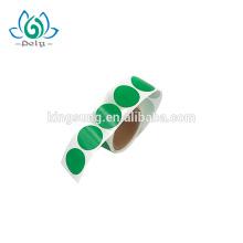 kundenspezifischer bunter gestempelschnittener Aufkleber 1 Zoll rund